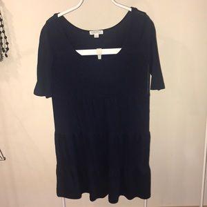 Essential blue dress